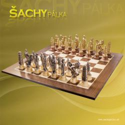 Cesare metal/wood chess sets
